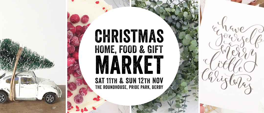 Christmas Market at The Roundhouse in Derbyshire